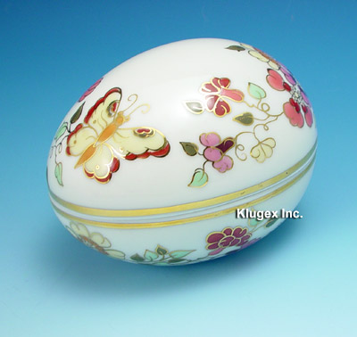 Zsolnay Hand Painted Covered Dish
