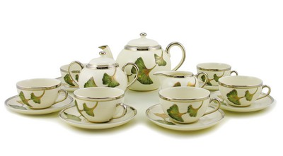 Zsolnay Autumn Decor Tea Set